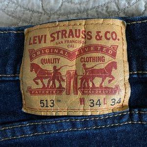 Men's Levi 513's